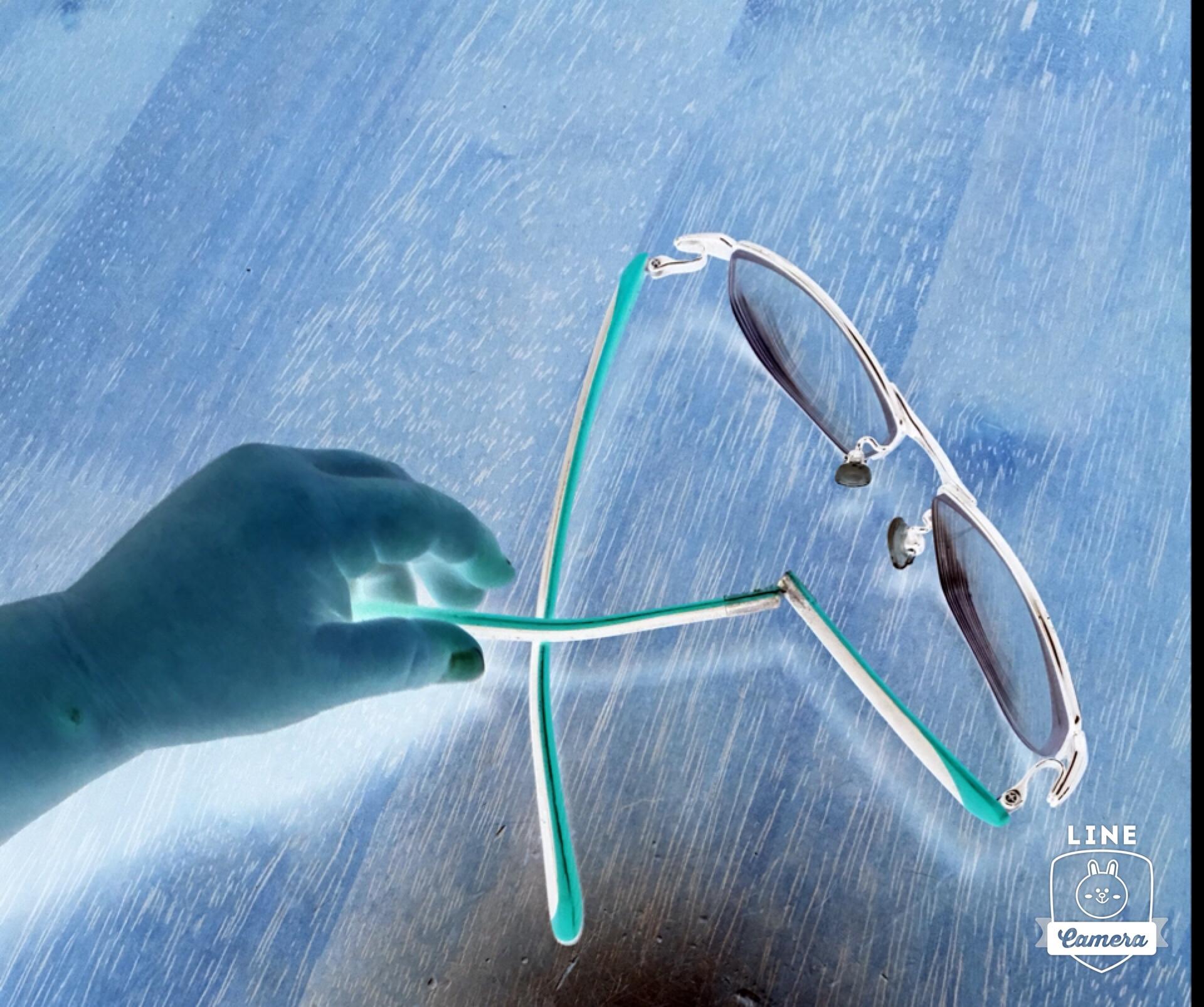 メガネやらかしマンガ風